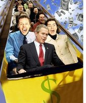 Bush Economy Rollercoaster