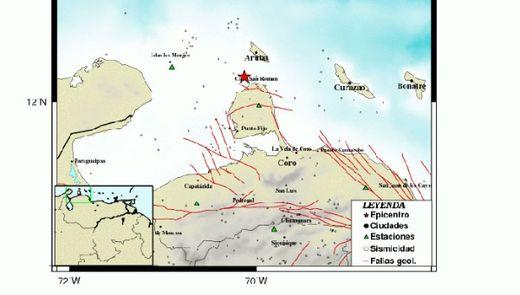 tremblement Venezuela