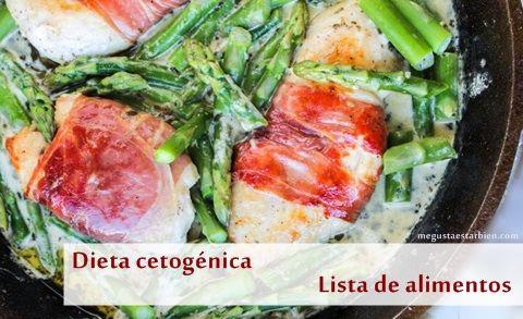 Dieta cetogénica alimentos