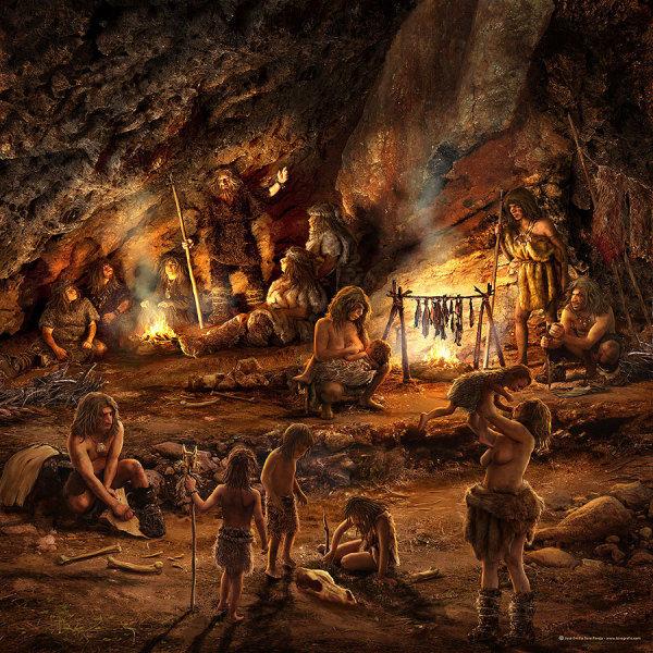 Los neandertales se extinguieron porque no supieron aprovechar el fuego historia secreta - Cocina de fuego ...