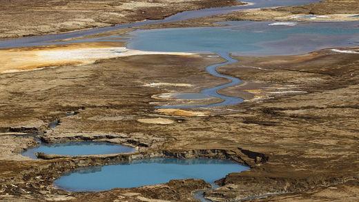 El mar Muerto, a punto de desaparecer dejando estragos en la costa de Israel 55b99e22c4618823678b4577