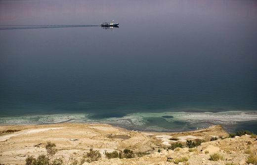 El mar Muerto, a punto de desaparecer dejando estragos en la costa de Israel 55b99e31c461885d638b4578