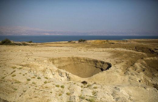 El mar Muerto, a punto de desaparecer dejando estragos en la costa de Israel 55b99e55c461887d598b457a