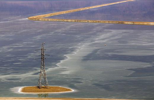 El mar Muerto, a punto de desaparecer dejando estragos en la costa de Israel 55b99e4ac46188af678b4571