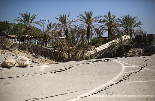 El mar Muerto, a punto de desaparecer dejando estragos en la costa de Israel 55b99e3dc46188b9588b4616