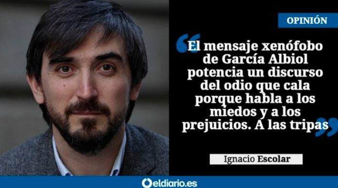 FACUA considera xenófobo que el PP utilice el Gobierno de España para enseñar en las escuelas que la migración irregular es una amenaza a la seguridad