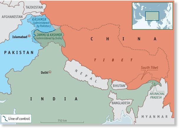 Estados unidos busca enfrentar a la india con china los dueos mapa india china gumiabroncs Image collections