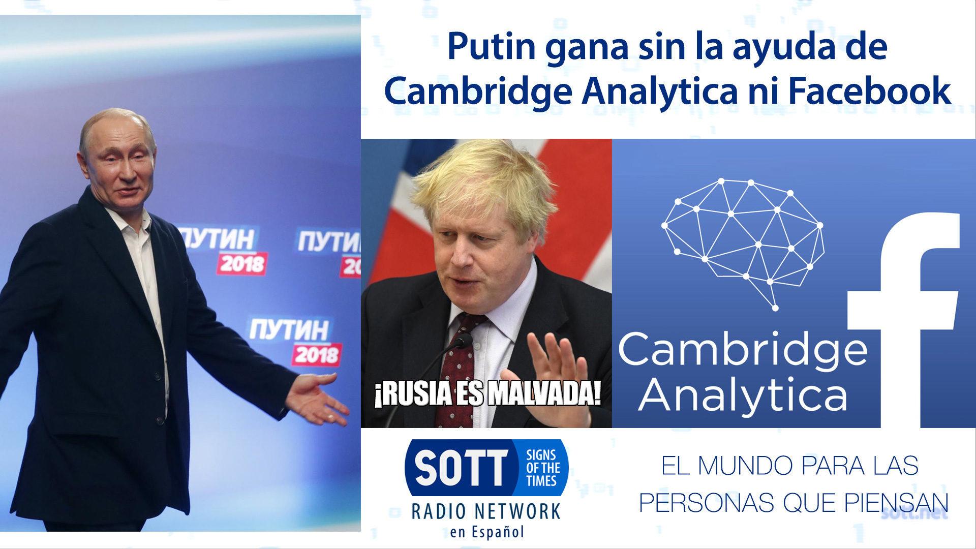 Putin gana sin la ayuda de Cambridge Analytica ni Facebook - SRN en ...