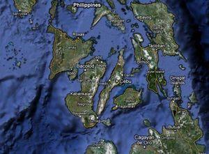 Filipinas - Detectan casi 350 réplicas tras temblor de 6,2 grados del martes en costas de Negros Islas_de_Negros_y_Panay_en_la_