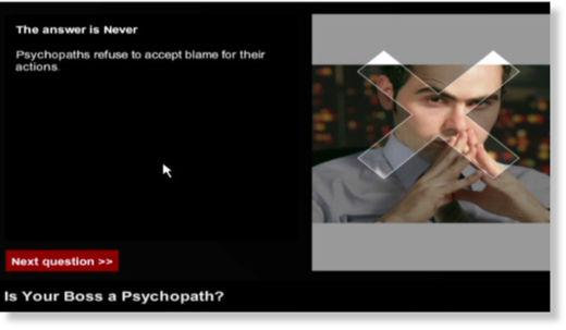 Jefe psicópata