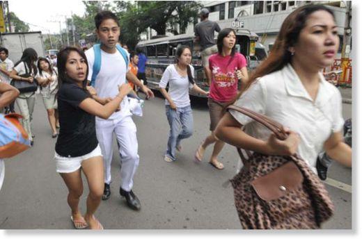 Sismo 6,8 en Filipinas2