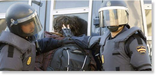Protesta estudiantes Valencia2