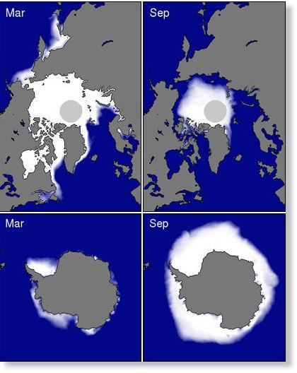¿Vamos hacia una nueva glaciación? Nuevos datos apuntan hacia una era glacial Seaice