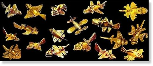 aviones de oro precolombinos2