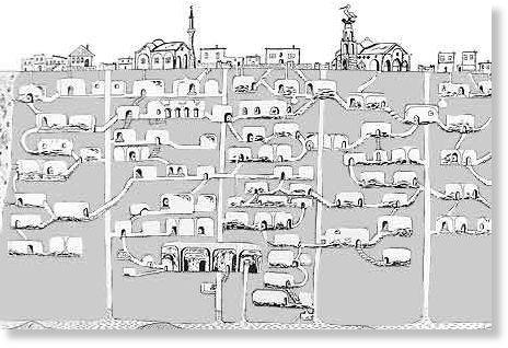ciudad subterránea de Turquía2