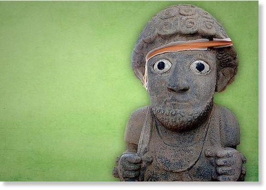 antigua escultura humana en Turquía1