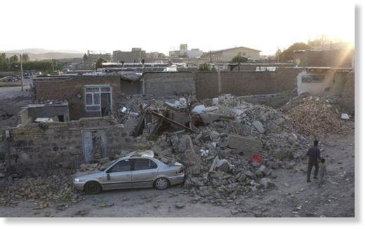 Dos terremotos en Irán