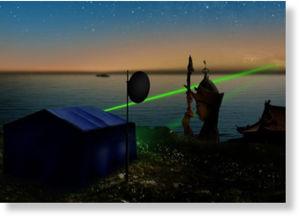 La teletransportación cuántica podrá enviar información a la velocidad de la luz. Teletransportaci_n_cu_ntica