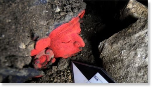 hallazgo arqueológico en  Atzompa