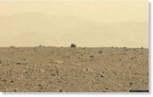 avistamiento de ovni por el Curiosity5