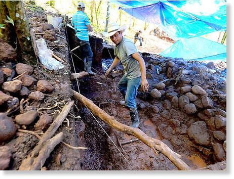 hallazgo arqueológico en Copán2