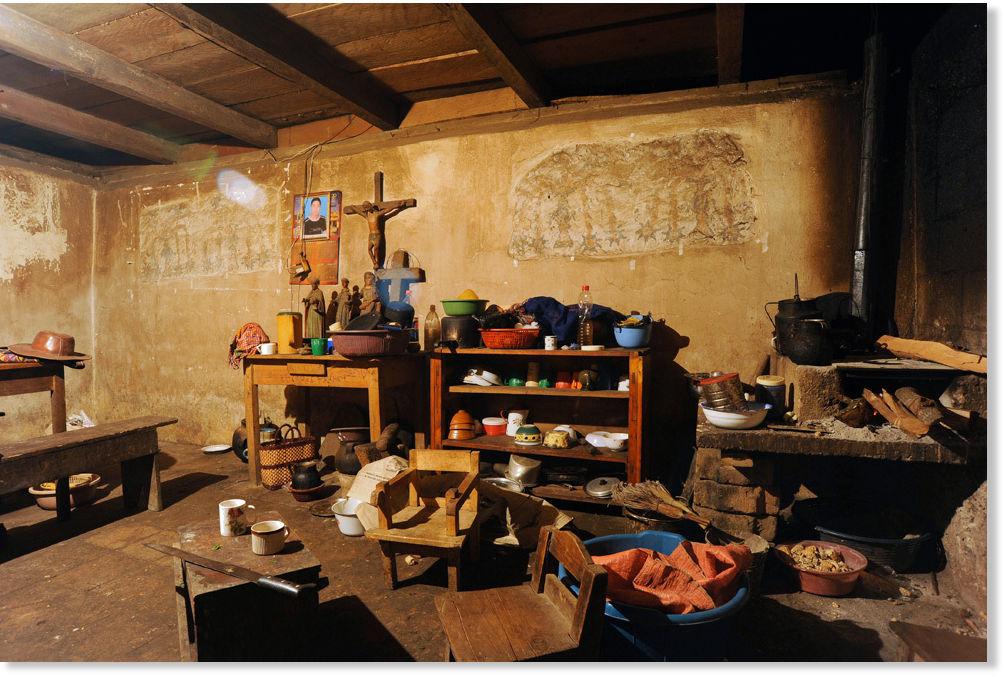 Descubren murales mayas en cocina de familia guatemalteca - Murales para cocina ...