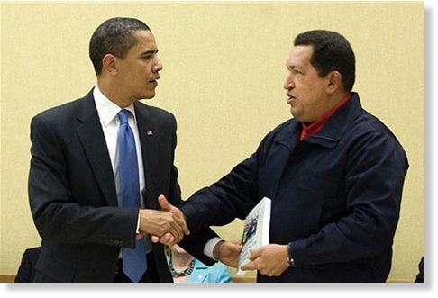 Hugo Chávez Obama