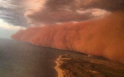 Tsunami de arena Australia1