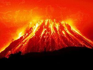 volcan del pacífico