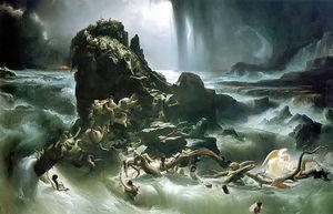 El Diluvio por Francis Danby
