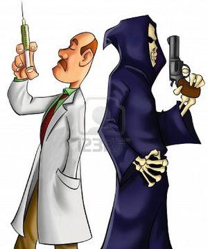 Médico y la muerte