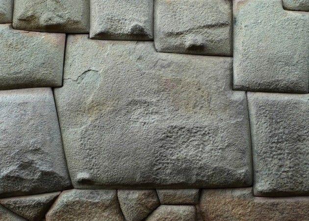 Pod 237 An Los Antiguos Peruanos Moldear La Piedra