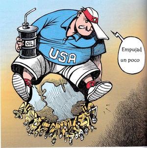 EE. UU. obeso sobre el mundo