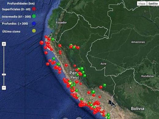sismos Perú