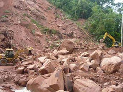 Pérou effondrement