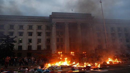 Ucrania incendio