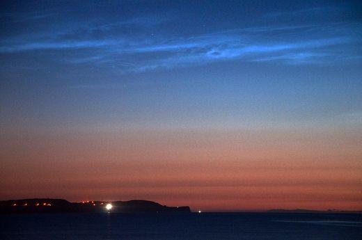 Nubes noctilucentes 2014: ¿Polvo de meteoritos? Noel_Blaney_Noctilucent_Clouds