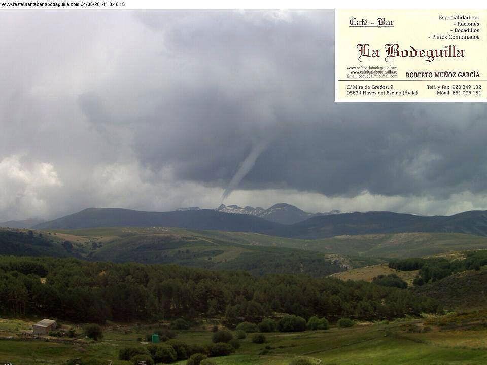 Espa a tuba o tornado en gredos cambios planetarios - Tornados en espana ...