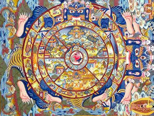rueda de Samsara