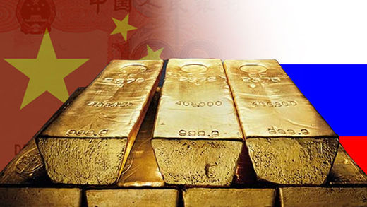 oro rusia china gold