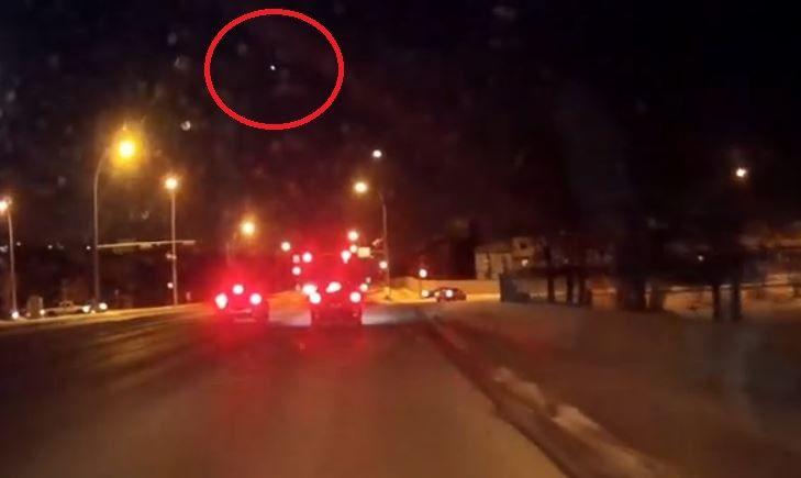 Gran bola de fuego en los cielos de Canadá - 3 de febrero ...