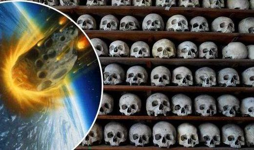 The Black Death may have been triggered by asteroid impact
