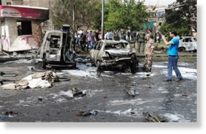 Car bomb damascus christians