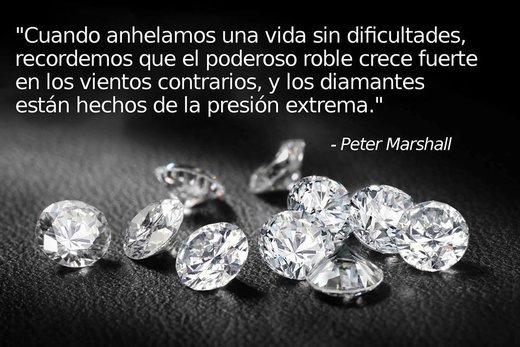 diamantes presión