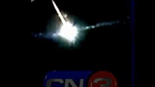 Video: bola de fuego causa conmoción en la Costa Atlántica bonaerense Presunto_filmado_Pinamar_Captu