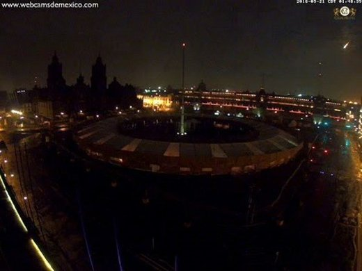 AVISTAMIENTOS BOLAS DE FUEGO 2016 Fireball_mexico_city