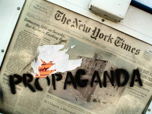 Resultado de imagen para Ya podemos poner el NEW YORK TIMES cuidadosamente en la basura