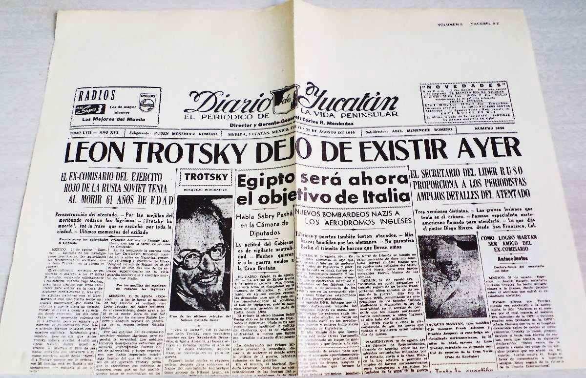 Época feroz: reflexiones en torno al asesinato de Trotsky ...