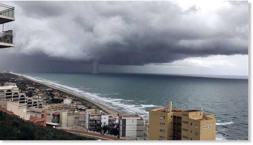 Tornado en huelva espa a cambios planetarios - Tornados en espana ...