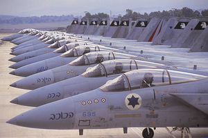 IDF air force jets
